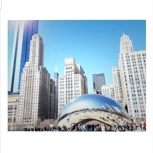 Bean & Architecture Chicago Photography Print